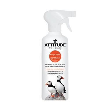 Attitude, Odplamiacz do tkanin w sprayu Skórka Cytrynowa (Citrus Zest) 475 ml