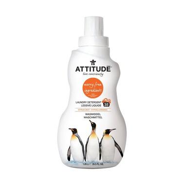 Attitude, Płyn do prania Skórka Cytrynowa (Citrus Zest) 35 prań - 1050 ml