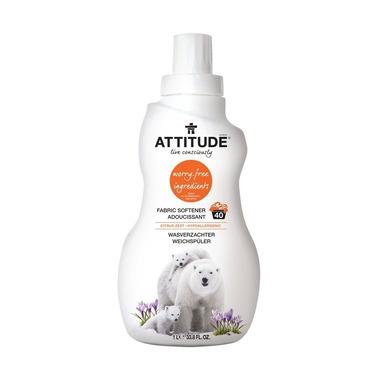 Attitude, Płyn do płukania Skórka Cytrynowa (Citrus Zest) 40 płukań - 1040 ml