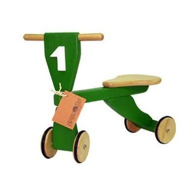 Drewniany rowerek