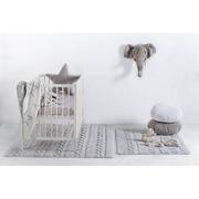 Lorena Canals, Dywan do prania w pralce Trenzas Pearl Soft Grey