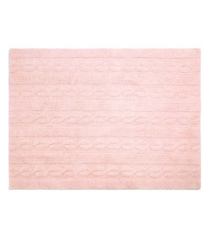 Lorena Canals, Dywan do prania w pralce Trenzas Soft Pink