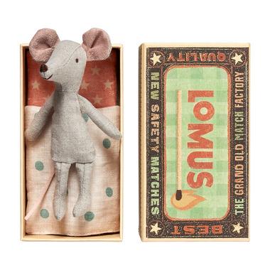 Maileg, myszka w pudełku - kuzyn