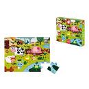 Janod, Puzzle sensoryczne 20 elementów Farma