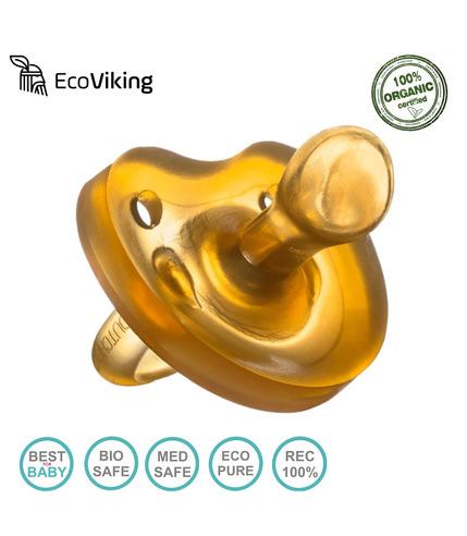 Eco Viking Smoczek Anatomiczny Kauczuk naturalny wiek 6m+