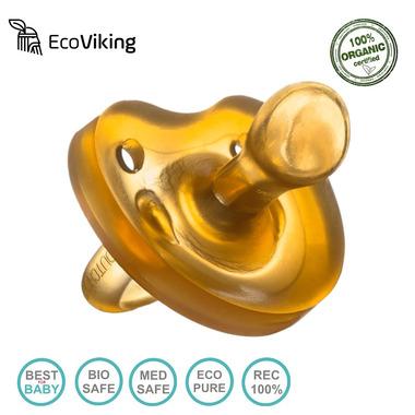 Eco Viking, Smoczek Anatomiczny Kauczuk naturalny wiek 0+
