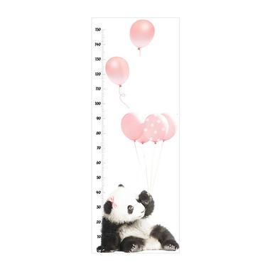 Dekornik , Miarka Wzrostu Panda z różowymi balonami