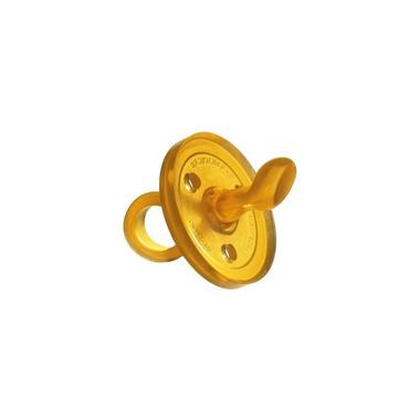 Goldi, Ekologiczny kauczukowy smoczek uspokajacz - ścięty 0-6m