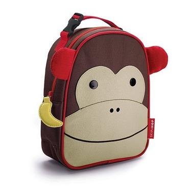 Skip Hop, torba na podwieczorek Małpka - Lunch Box