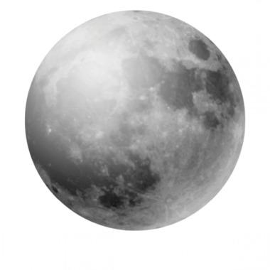 Dekornik , Naklejka Nad Mebelki Księżyc w Pełni
