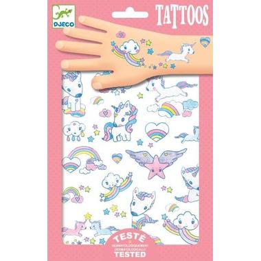Djeco, Tatuaże JEDNOROŻCE