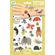 Djeco, Tatuaże MALUTKIE RZECZY