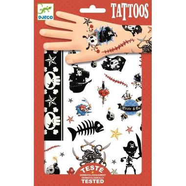 Djeco, Tatuaże PIRACI