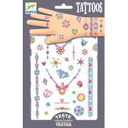 Djeco, Tatuaże neonowe KLEJNOTY JENNI