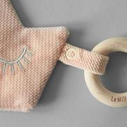 La Millou, Zawieszka z gryzakiem- Powder Pink- La Millou Familly