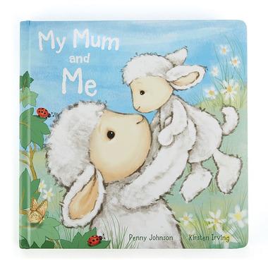 """Jellycat, książeczka """"My Mum and Me"""""""