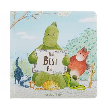 "Jellycat, książeczka ""The best pet"""