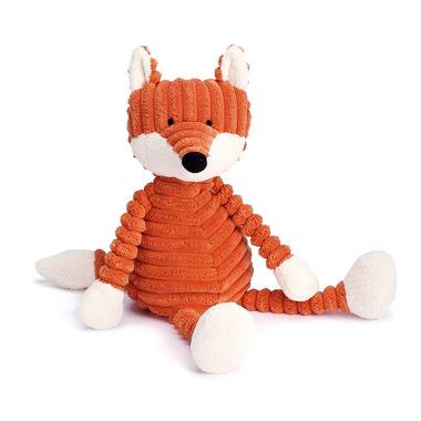 Jellycat, Lisek 26 cm pomarańczowy