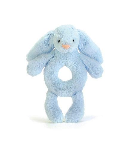 Jellycat, Króliczek 18 cm niebieski