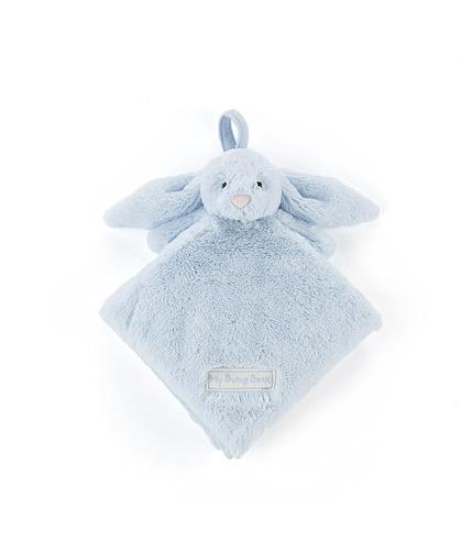 """Jellycat, książeczka """"My blue bunny"""" 15 cm niebieska"""