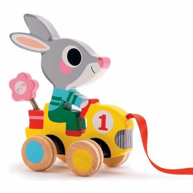 Djeco, królik do ciągnięcia