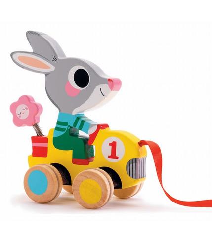 królik do ciągnięcia Djeco