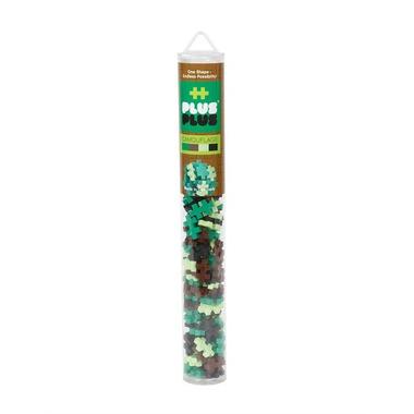 Plus-Plus, Mini Tuba Kamuflaż - 100 szt