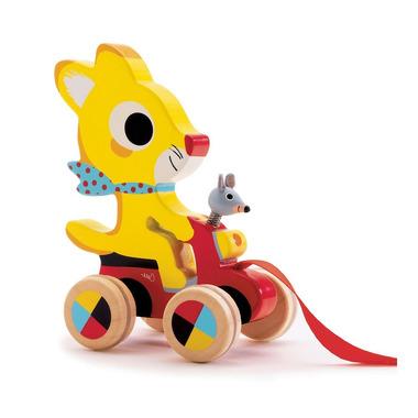 Djeco, myszka do ciągnięcia