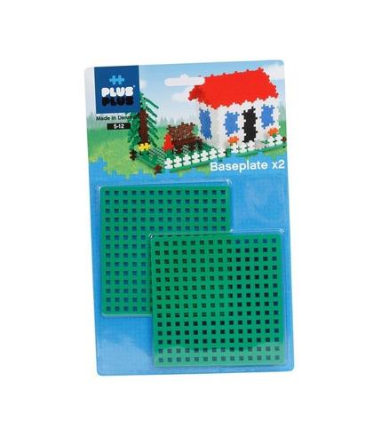 Plus-Plus, Dwie Zielone Płytki Konstrukcyjne