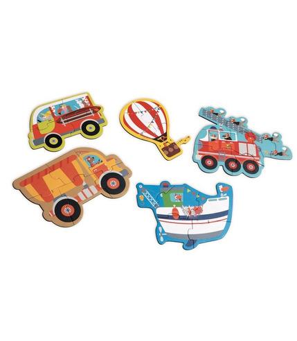 Scratch, Pierwsze Puzzle Pojazdy