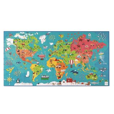 Scratch, Puzzle Mapa Świata
