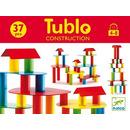 Drewniane klocki konstrukcyjne TUBLO 37 szt