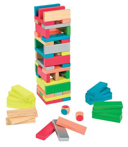 Janod, wieża kolorów Jenga