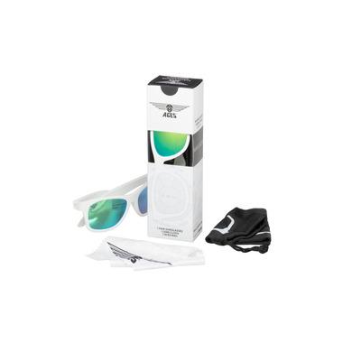 Babiators, Okulary przeciwsłoneczne Aces 7-14 Wicked White / Green Lenses