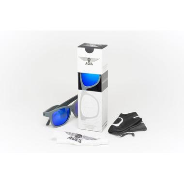 Babiators, Okulary przeciwsłoneczne Aces 7-14 Galactic Gray / Blue Lenses