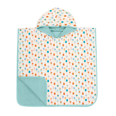 Lassig, Ręcznik Poncho Ice Cream 120x60 cm UV 50+