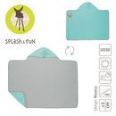 Lassig, Ręcznik z kapturem Star Fish 100x70 cm UV 50+