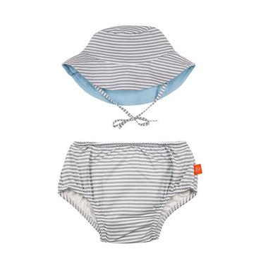 Lassig, Zestaw kapelusz i majteczki do pływania z wkładką chłonną Submarine UV 50+ 18mc