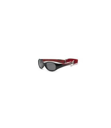 Okulary przeciwsłoneczne Explorer - Black and Red 0+
