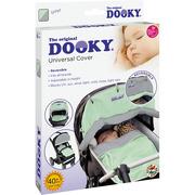 Dwustronna osłonka do wózka i fotelika Dooky - Mint/Grey