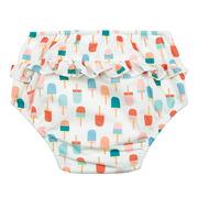 Lassig, Majteczki do pływania z wkładką chłonną Ice Cream UV 50+ 12mc