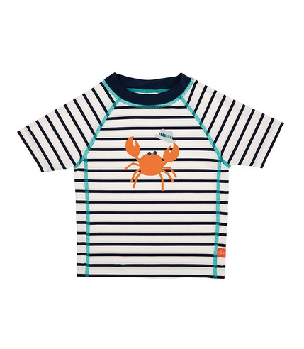 Lassig, Koszulka T-shirt do pływania Sailor navy UV 50+ 18mc