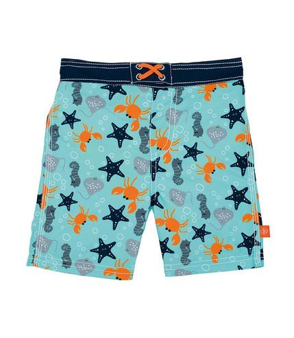 Lassig, Spodenki do pływania z wkładką chłonną Star Fish UV 50+ 18mc