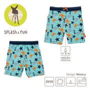 Lassig, Spodenki do pływania z wkładką chłonną Star Fish UV 50+ 24mc