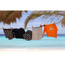 Lassig, Spodenki do pływania z wkładką chłonną Small Stripes UV 50+ 6mc