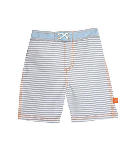 Lassig, Spodenki do pływania z wkładką chłonną Small Stripes UV 50+ 24mc