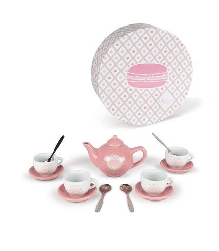Janod, Serwis do herbaty 14 elementów Macaron