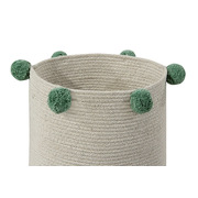 Lorena Canals, Basket Natural Green
