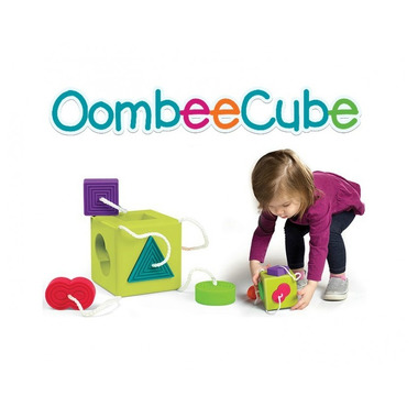 Fat Brain Toy, Sorter Kostka Oombee Cube