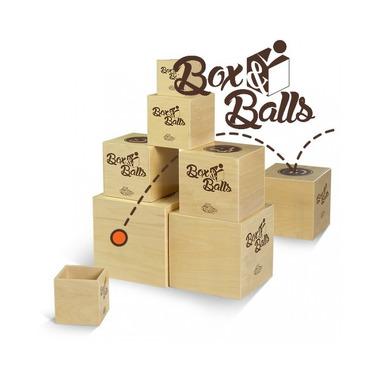 Fat Brain Toy, Gra Pudełka i Piłeczki